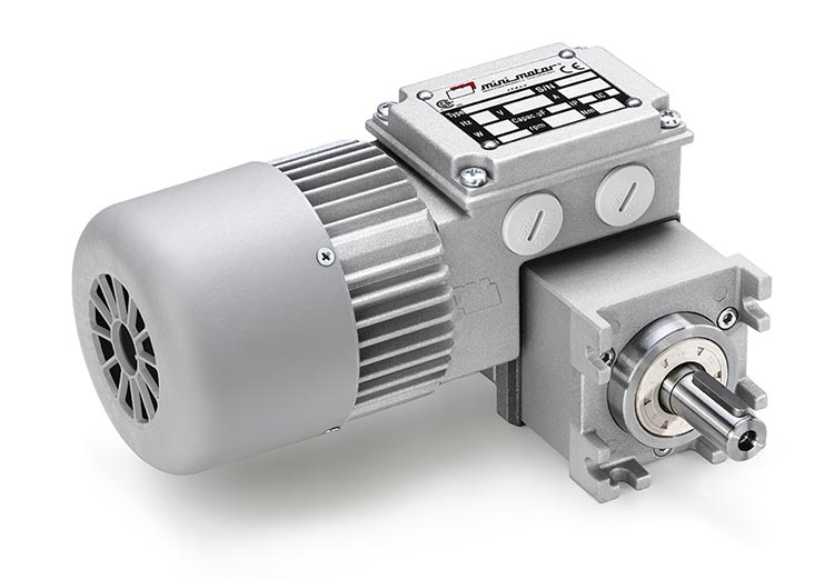 Schneckengetriebemotoren | Typ MCE | Infra-Antriebe