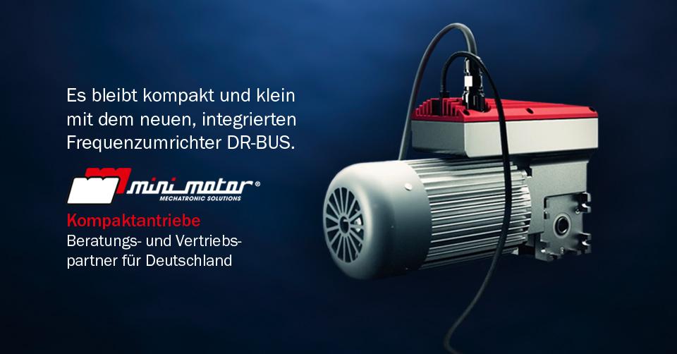 News | minimotor | Infra-Antriebe