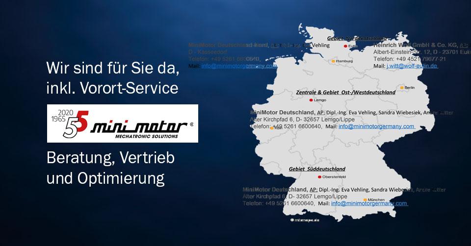 News | minimotor Vertriebsnetz | Infra-Antriebe