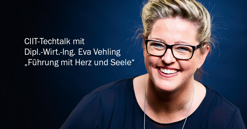 News | CIIT-Techtalk mit Eva Vehling | Infra-Antriebe